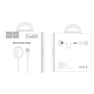 Image 5 - HOCO For iWatch Wireless Charger Portable Quick Charge Watch Pad 1m Cable Fast wireless Charging for Apple iWatch 1 2 3 4
