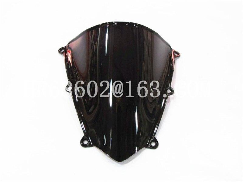Pour Honda CBR 600 RR F5 2007 2008 2009 2010 2011 2012 Noir Pare-Brise Pare-Brise Double Bubble cbr600 CBR600 CBR600RR