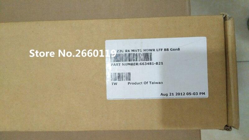 Server rail kit for 663481-B21 DL380e DL380p DL385p DL388p G8 for hp dl388p 388e g8 server upgrade kit fan heatsink 654577 001 663673 001
