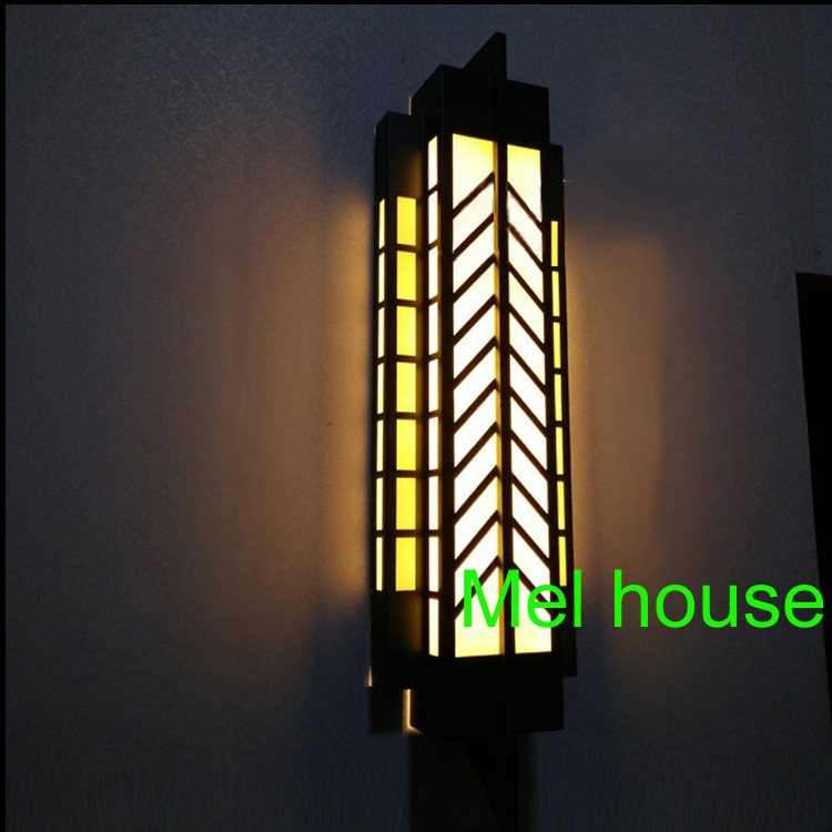 Traditional Chineses outdoor wall lamp gate Entrance Door Wall sconces LED Waterproof wall Lights villa garden outdoor lighting