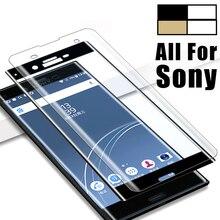 3D стекло для sony Xperia X стекло закаленное XZ 2 S XZ2 Премиум Z X компактная Защитная пленка для экрана XZS полное покрытие защитная пленка Glas