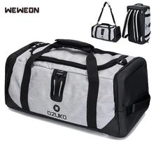 Multifunctional Sports Gym Bags Men Large Fitness Shoulder Bag Outdoor Travel Backpack Women Yoga Handbag Sporting Tote