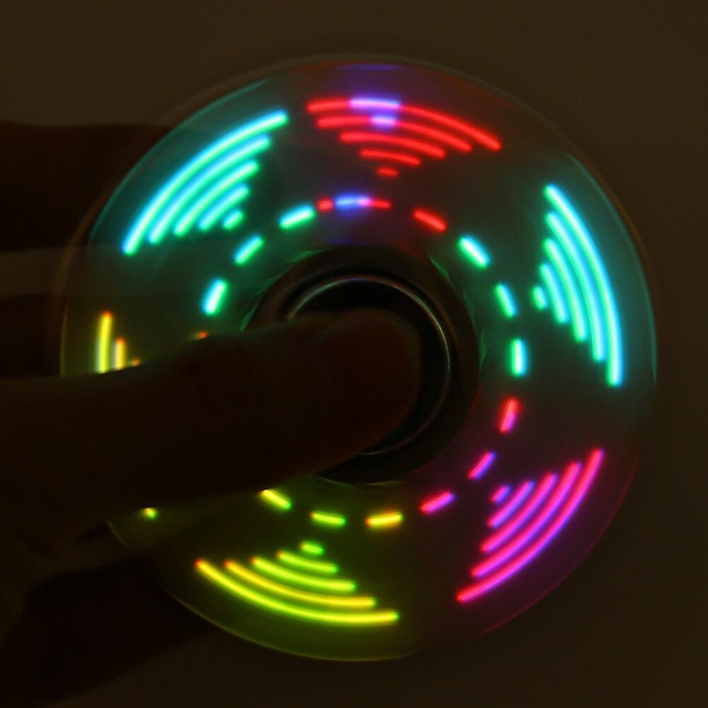 Светодиодный вспышки света ABS-Spinner HandSpinner стол фокус игрушка EDC spinner