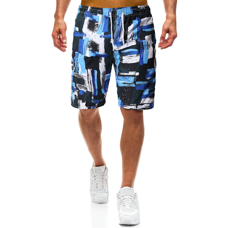 2019 New Summer Beach Men Shorts Europe And America Shorts Sports Men Shortswimming Easy Shorts Quick Dry