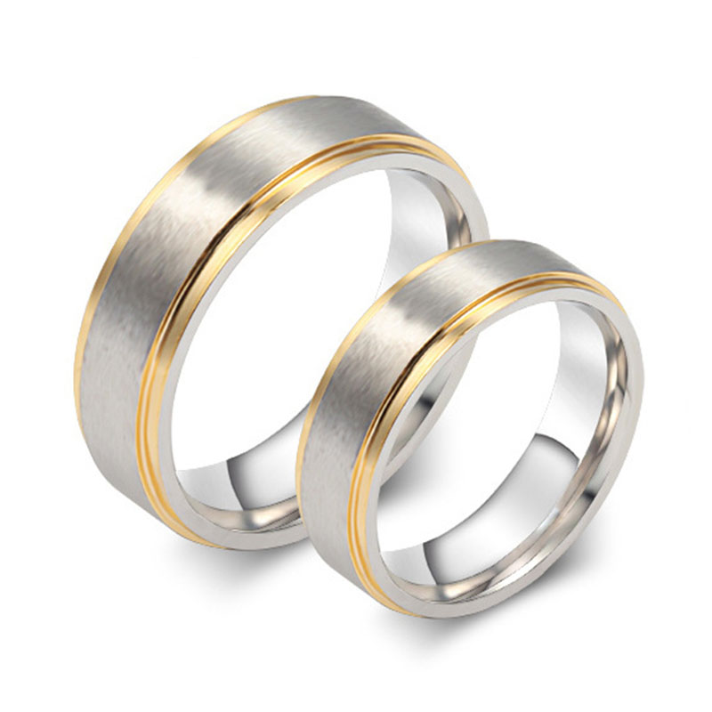 2019 New Real Jewelry 1pcs 's Wedding Rings Stainless ...