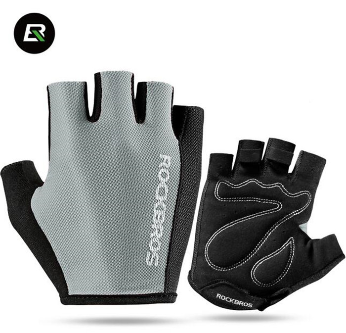 ROCKBROS Breathable MTB Road Bicycle font b Gloves b font Sports Cycling Equipment Men Women Cycling
