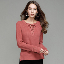 2019 New Fashion Women Sweater Slim Fit Upper Outer Garment Beach Solid Color Long Sleeve Pullover Female Sweaters Spring Summer