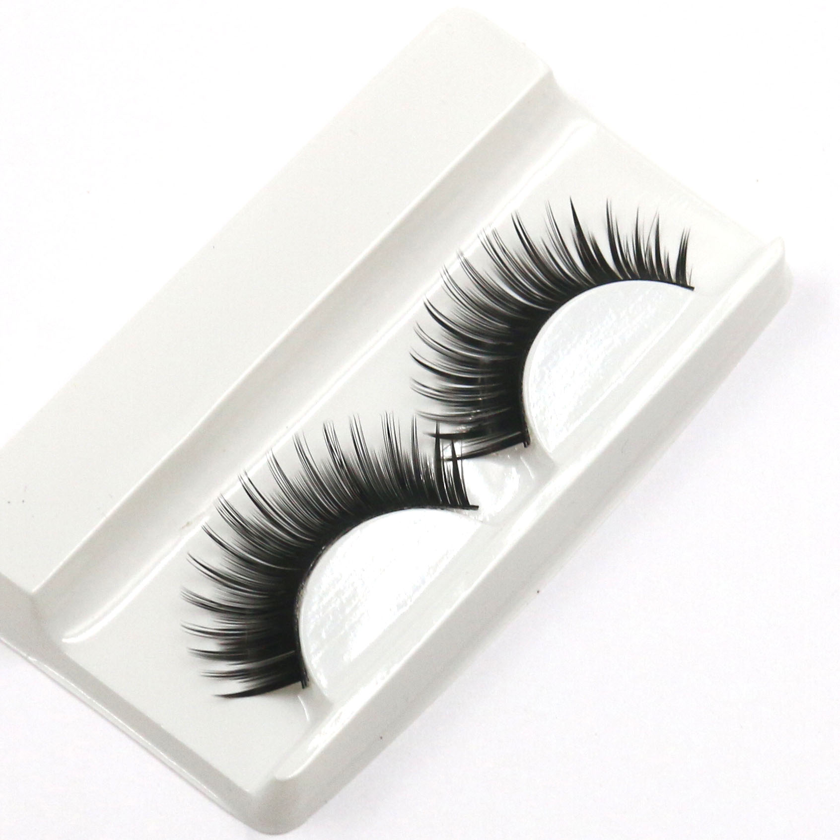 New Fashiona Pair Of Loaded Cross  False Eyelashes  Fashion  Makeup  Eyelash Extension
