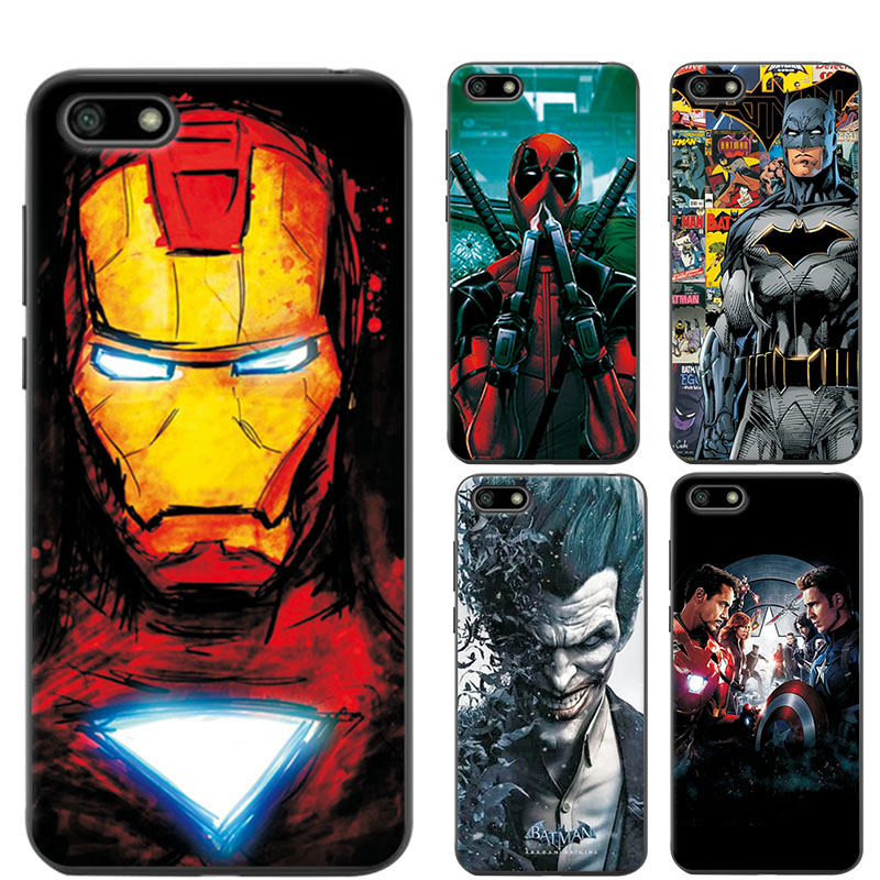 "The Avengers Case Cover For Huawei Honor 7A 5.45"" Charming Chic Phone Case Coque For Huawei Honor 7A 7 A DUA-L22 Russian Version"