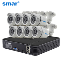 Smar H 264 8CH NVR 720P IP Camera Video Record HDMI 1080P Output IR Outdoor CCTV