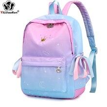 Cute Backpacks for Girls High Quality Waterproof Nylon Women Backpack Large School Fashion Bookbag Kids