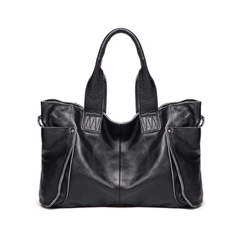 2018 Ladies Large Capacity HandBags Popular Big Tote Bags Women Top - Beg tangan - Foto 2