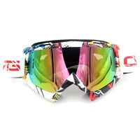 Top Sale Hot Motocycle Accessories Protective Gears Flexible Motorcycle Glasses Goggles Motocross Colorful Lens