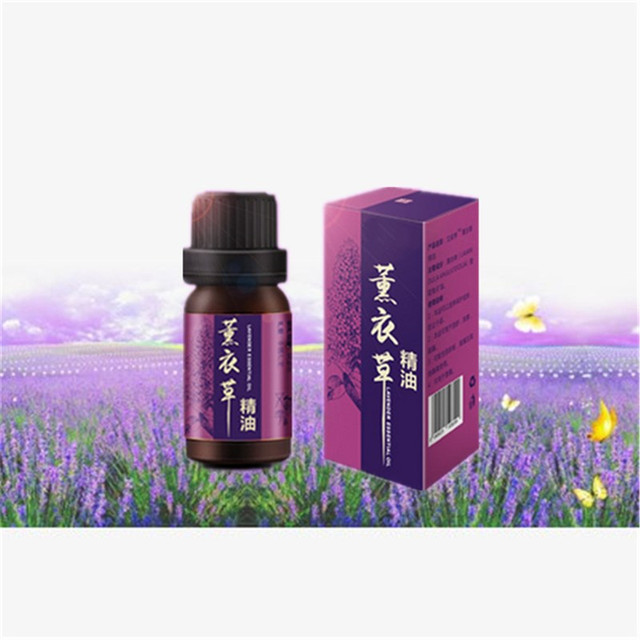 100% Pure Lavender Skin Care Essential Oils for Aromatherapy With retail  box, 10ml Lavender
