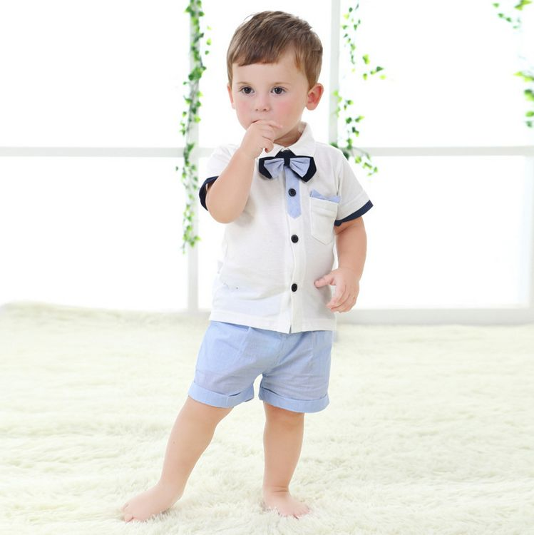 2016 Brand New summer clothing set,baby boy clothes,kids clothes,short baby set Free shipping ...