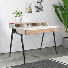 цена на Office Computer Table Wooden Desk Office Desk with Drawer Workstation for Home Office Use Writing Table