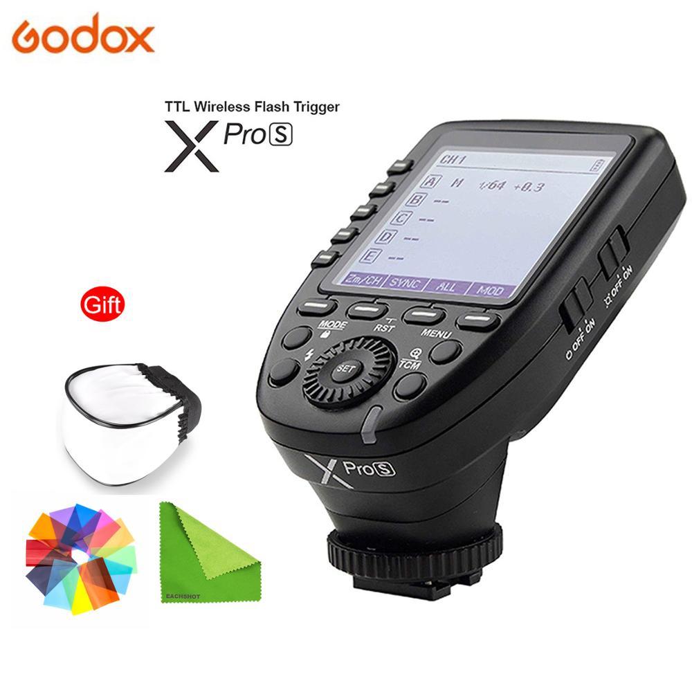 Transmetteur de déclenchement Flash de la série Godox Xpro xpro-c/N/S/F/O pour tous les types d'appareil photo pour Canon Nikon Sony Olympus Panasonic Fuji