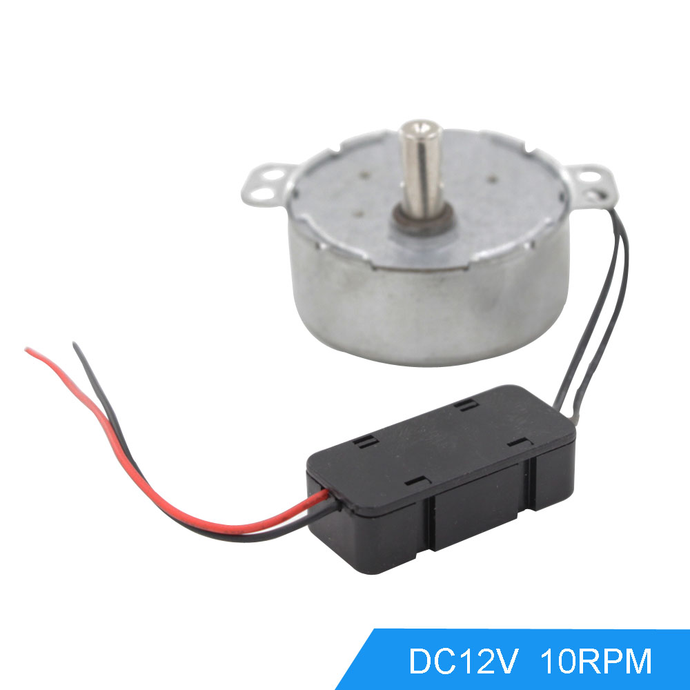 Synchronous Motor 50tyc 10rpm Output Speed Dc 12v Gear