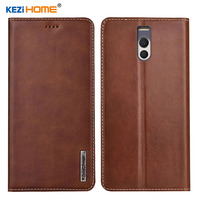 Case for Meizu M6 Note KEZiHOME Luxury Genuine Leather Flip wallet Cover for Meizu M6 Note 5.5'' Phone cases
