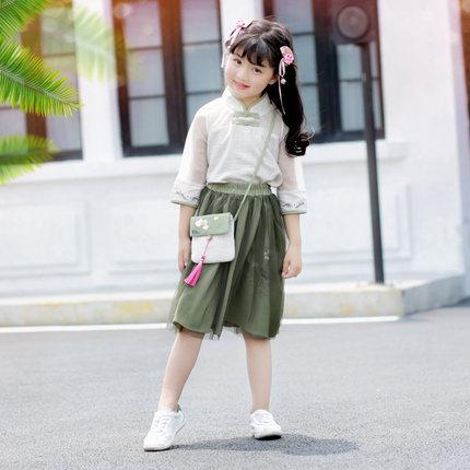 Mère père bébé famille correspondant tenues chinois Style Vintage costumes mère et fille robe Hanfu à manches longues robes Z832 - 4