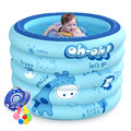 Baby swimming pool large household inflatable child baby bathing bucket newborn insulation circle