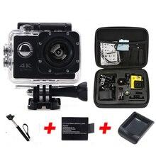 Oringal F60 wifi Desporto radical Action Camera 4 K Mini Cam gravador de Marinha Mergulho  esporte camera gopro hero 4 estilo