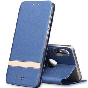 Image 2 - MOFi Flip Cover for Xiaomi Mi 8 Case for Xiomi 8SE TPU UD PU Leather Coque for Mi8 Explorer Silicone Book Housing Original