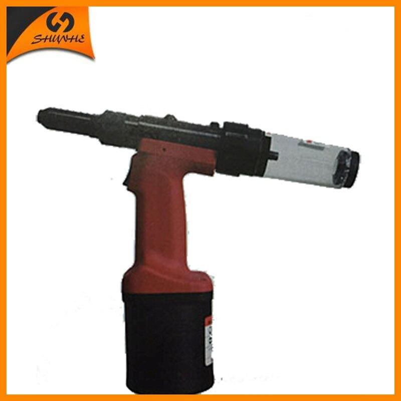 SAT0110 outil de rivetage Durable pneumatique Rivet Machine vanne Structure interrupteur Rivet pistolet Double Air-Way conception riveteuse