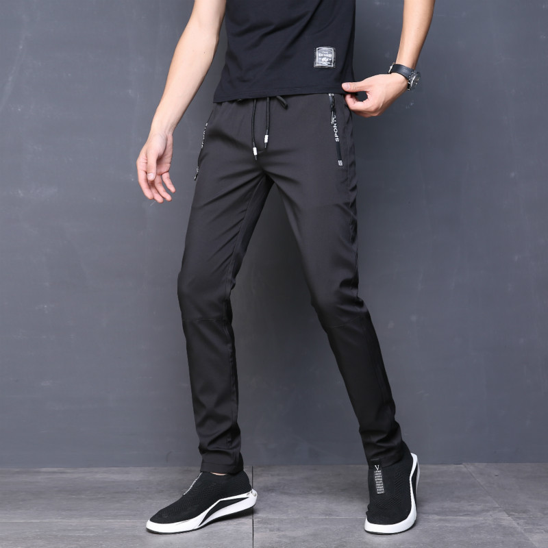 cacfe04ef8f10 Size 28-40 Men Summer Lightweight Pencil Pants Casual Fashion Male ...