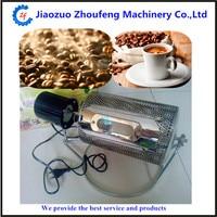 Elektrische kaffeeröster maschine mini heimgebrauch edelstahl kaffeebohne röster backen samen nüsse 220 v/110 V ZF