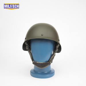 Image 2 - Militech Oliver Drab OD Green French F1 Model 1978 Version Steel Paratrooper High Quality Repro Collection Helmet