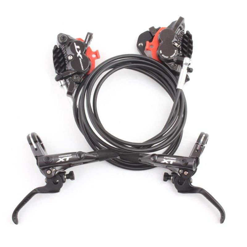 Frein à disque hydraulique SHIMANO DEORE XT BL M8000 BR M8020 4 Pistons avec plaquettes de ICE-TECH