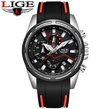 Relogio Masculino LIGE New Sport Watch Men