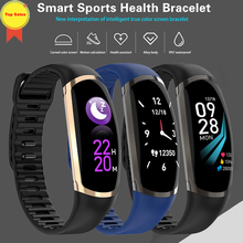 Smart band Heart rate blood pressure Monitor Fitness Activity 0.96ips color screen smart Wristband ios Android phone pk A6 G26
