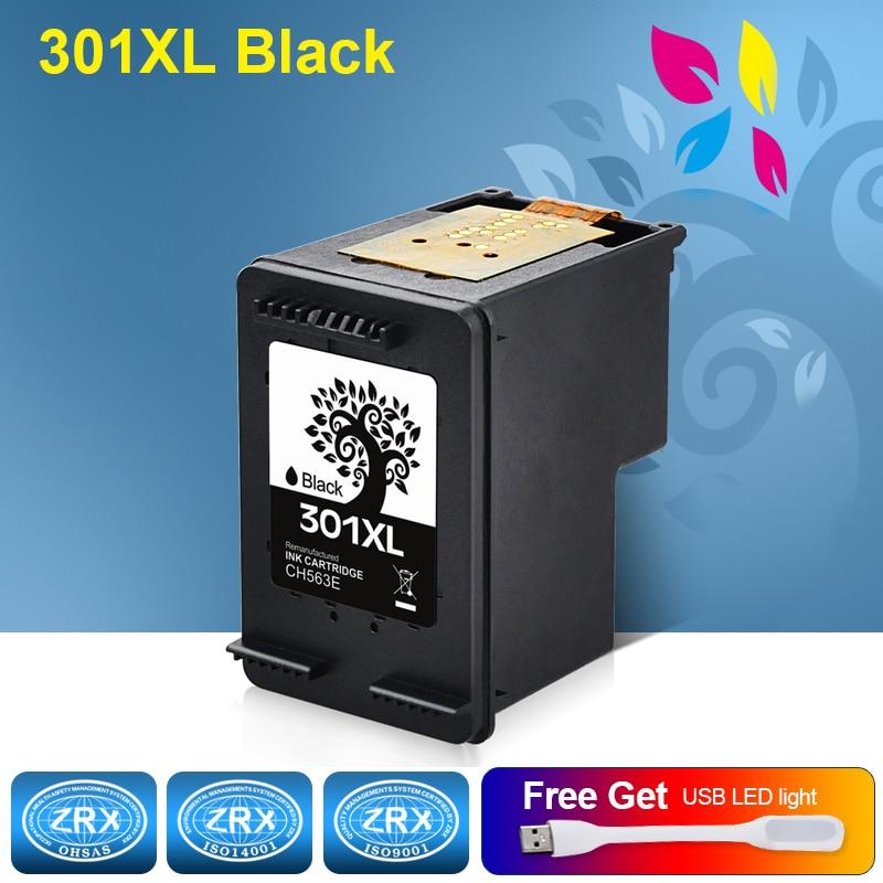 1 stücke Schwarz Tintenpatrone für HP301XL HP 301 301XL HP301 CH563E HP...