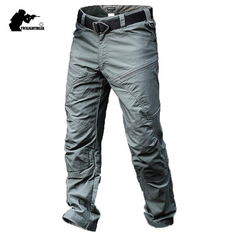 Nouveaux pantalons tactiques pour hommes uniformes de Combat de l'armée masculine moralité imperméable pantalon Cargo hommes salopette de haute qualité BY311