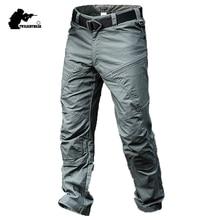 Pantalones tácticos para hombre, uniformes de combate del Ejército, ropa de carga impermeable, alta calidad, AY311