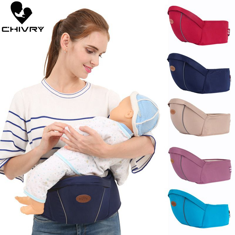 Chivry Baby Carrier Waist Stool Walkers Baby Sling Hold Waist Belt Backpack Toddler Baby Hipseat Belt Kids Infant Hip Seat