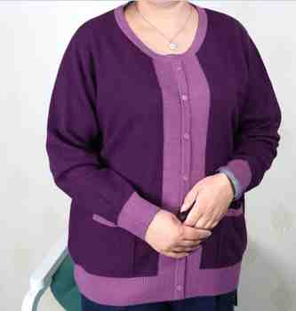 Plus Size Women Clothing 5XL 6XL7XL 8XL 9XL Large Size Middle Aged Clothes Mother Cashmere Sweater Knitted Shirt Long Sleeve