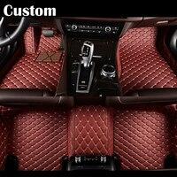 EMS Custom fit car floor mats for Jeep Grand Cherokee Wrangler Commander Compass Patriot 3D car stylingcarpet floor liner