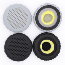 Memory Foam Headphone Pads For Edifier W570BT W670BT Replacement Headset Protein Leather Ear Yw#