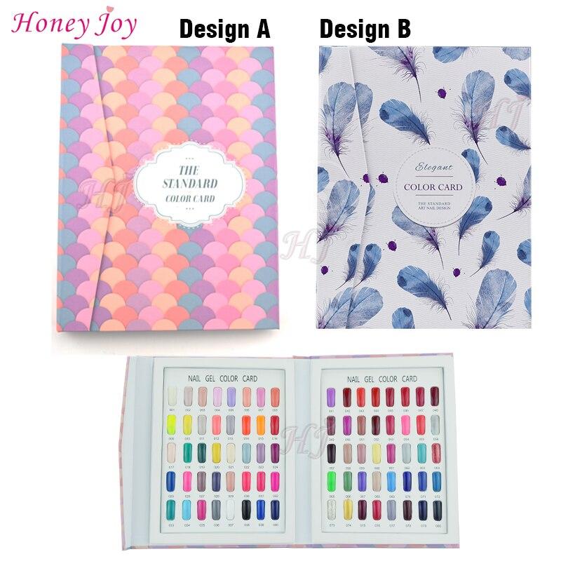 1 set Professional 80 Colors Fan shaped or Feather Pattern font b Nail b font Gel