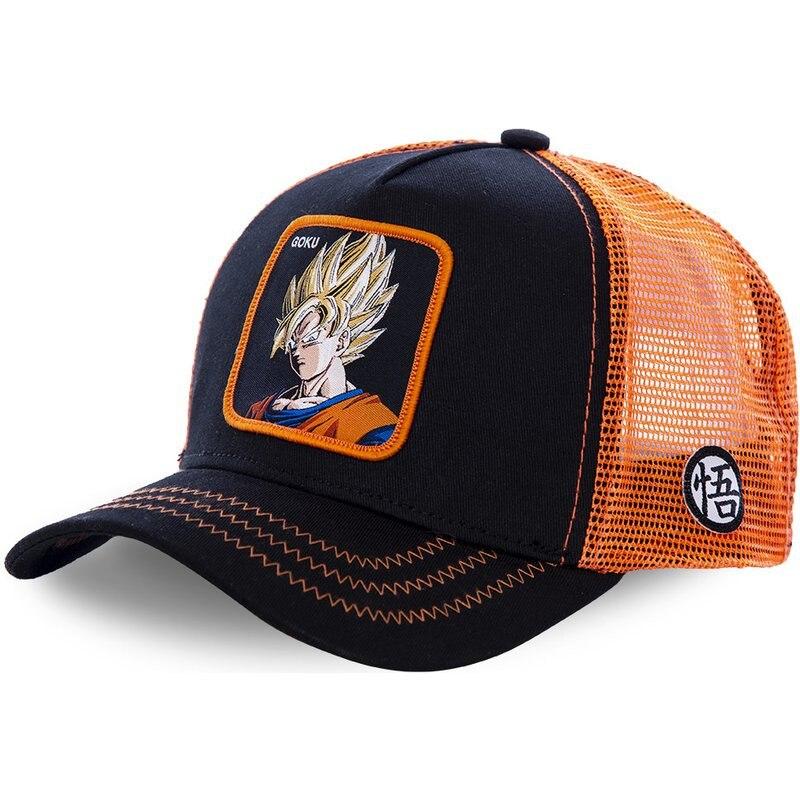 Dragon Ball New Brand Goku Super 12 Styles Snapback Cotton   Baseball     Cap   Men Women Hip Hop Dad Mesh Hat Trucker Hat Dropshipping