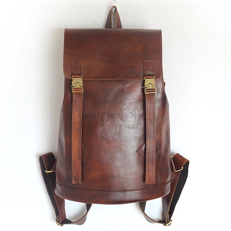 Popular Tan Leather Backpack-Buy Cheap Tan Leather Backpack lots ...