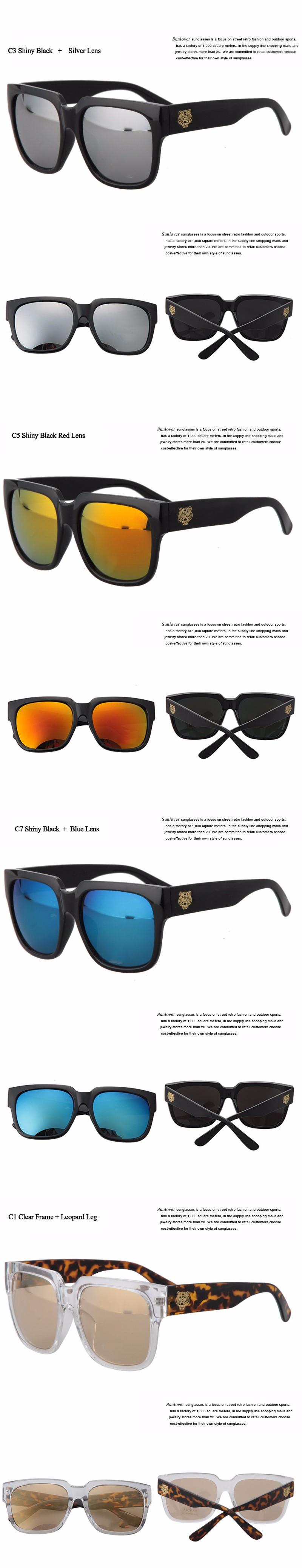 17893dadfcba Fashion Korea Star Same Designer Eyewear Women Men Unisex Square Sunglasses  Shades Points sun Glasses Cool Coating Sunglass. zhutu 1 XIANGQING 5  XIANGQING 6