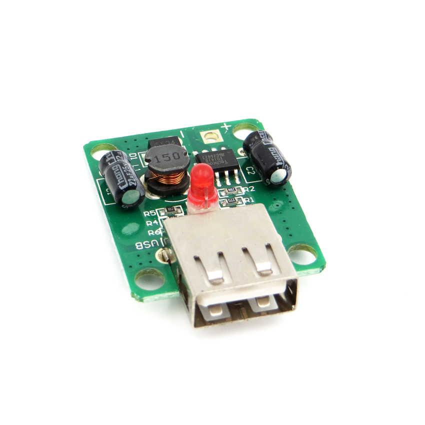 5V 2A с Светодиодный индикатор USB панели солнечных батарей регулятор напряжения dc в dc преобразователь 6V-20V вход 5Vdc