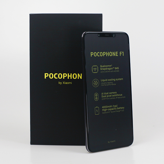 Global Version Xiaomi POCOPHONE F1 POCO F1 6GB 64GB Snapdragon 845 6.18″ Full Screen AI Dual Camera 4000mAh Smartphone