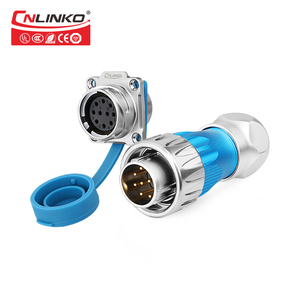 Image 4 - Cnlinko Metal Shell Medical Ship Car Electrical Plug Sockets IP67 Industrial Connector 10 Pin 10A 500V Waterproof M24 Connector