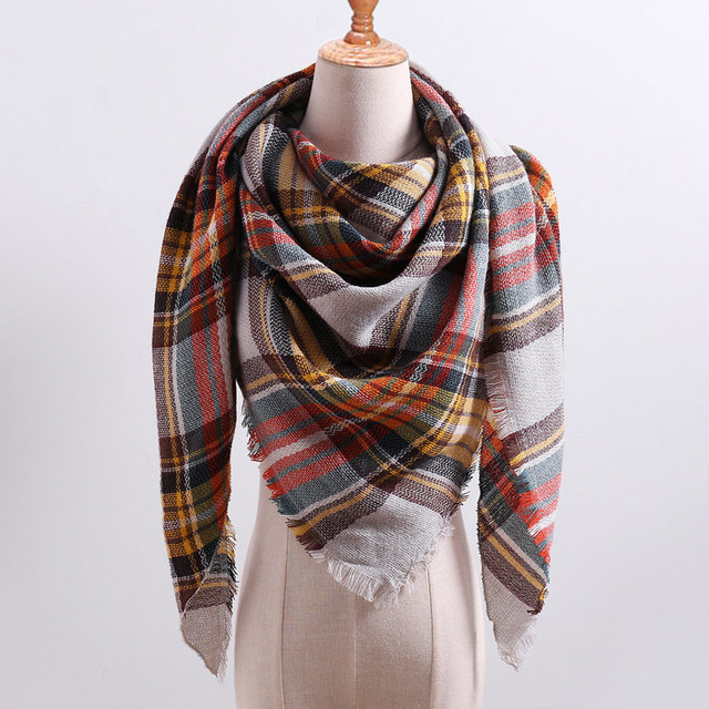 knitted spring winter women scarf