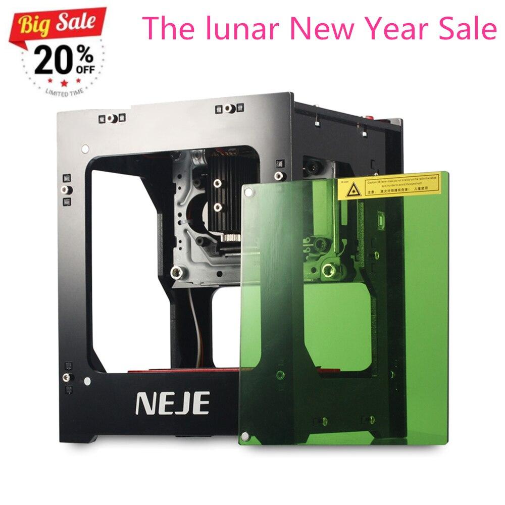 NEJE DK-8-KZ 1000 mW Haute Puissance Laser Graveur Imprimante Cutter Machine USB Machine Automatique CNC Routeur haute précision